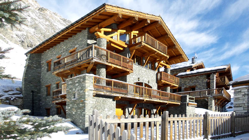 catered quality chalet in val d'isere
