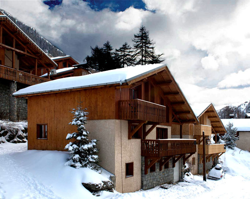 catered 12 bed chalet in tignes